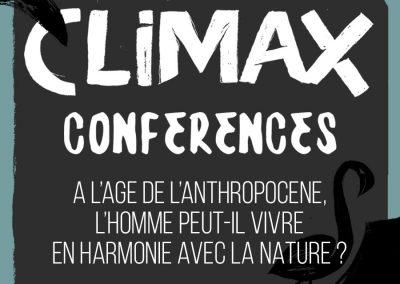CONFÉRENCE 1 : A L'AGE DE L'ANTHROPOCÈNE, L'HOMME PEUT-IL VIVRE EN HARMONIE AVEC LA NATURE ?