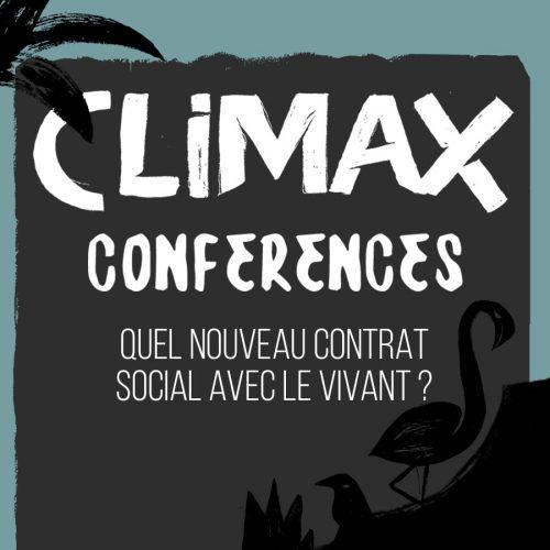 CONFÉRENCE 7 : QUEL NOUVEAU CONTRAT SOCIAL AVEC LE VIVANT ?